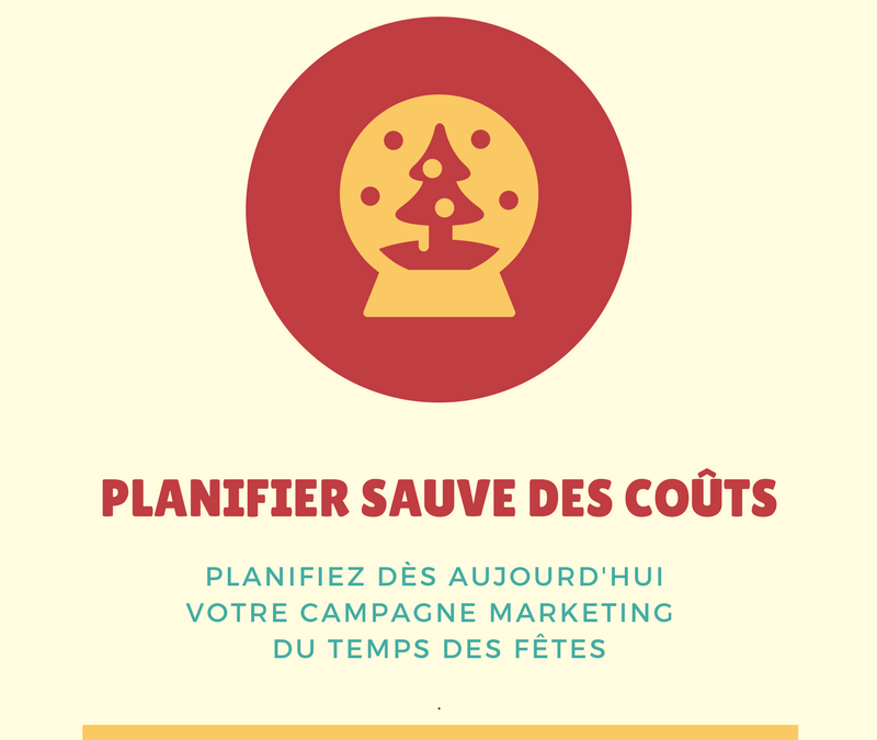 Campagne marketing du temps des fêtes – Planifiez maintenant !