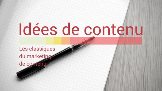 idees de contenu agence web montreal reboot strategies médias sociaux