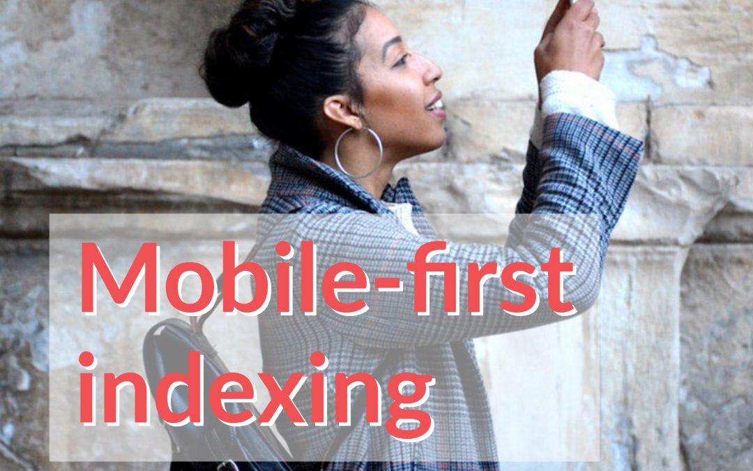 L'indexation prioritaire du mobile