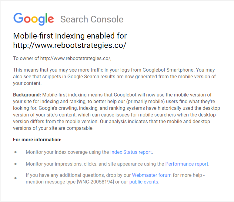 google-email-mobile-first-indexing